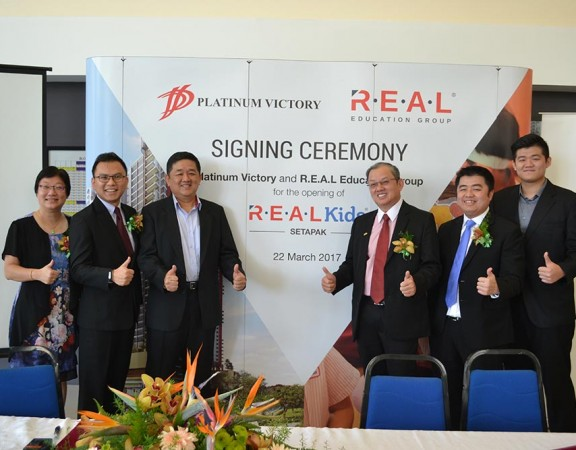 R.E.A.L Goes 'Platinum' in Opening of New R.E.A.L Kids Setapak Centre